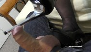 Foot job shoes Shoe job and high heels job until cumshoot on feet and shoes