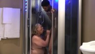 Bbw electra summers Hung low gets a stunning surprise stunning summer fucks him in the shower