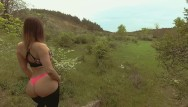 Amatuer couples fuck Young teen with nice butt gets quick outdoor fuck