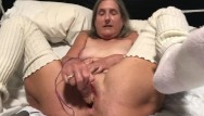 Old granny saggy tits adult tube - 60 year old granny milf mature gilf big orgasm with pink rabbit