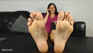 Lick feet clean - Lick these soles clean