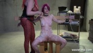 Adult self discipline Chunky mistress disciplines dyke slave with wax and whips