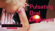Short dick guy fucking - Her hobby is sucking a pulsating dick. pulsating oral crampie, short ver
