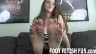 Foot porn tube Femdom foot worshiping and pov foot fetish porn