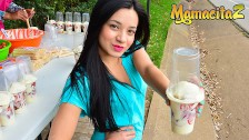 MamacitaZ - Tiny Colombian Teen Is Picked Up To Get Fucked
