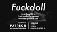Women lick own pussie My fuckdoll: pussy licking, rough sex aftercare erotic audio for women