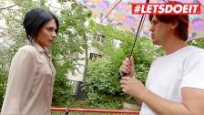 LETSDOEIT - Hot Ukrainian Teen Rides a Thick Czech Cock On Her Trip