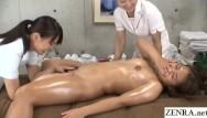 Hi res jpg lesbian porn Jav lesbian massage clinic new hire stark naked demonstration