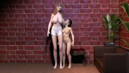 Hormone to grow breast Young busty teen grows long legs and big boobs foot fetish growing breasts