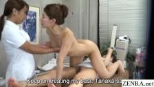 JAV lesbian massage new hires work on head masseuse leading to threesome