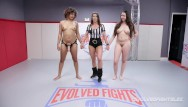 Girls porn fight club - Daisy ducati dominates curvy kyra rose in girl vs girl wrestling