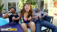 Monster cock fuck double - Bangbros - interracial big black cock threesome for thicc cougar ava devine