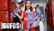 Xtube locker romm teen Mofos - petite cheerleader jane wilde gets fucked in locker room