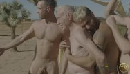 Gay old porn Hot grandpa hooks up with gay porn stars