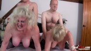 Naked old couples - Agedlove group orgy of two mature couple