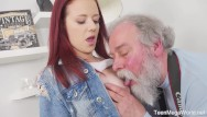 How to make sperm shoot - Old-n-young.com -tiffani love- old man shoots hottie in sperm