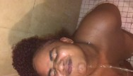 Pissed off milf swallows Nasty ebony golden shower piss catcher in mouth and swallow