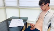 Very young russian gay boys Young school boy wanking he is too horny for study / big dick23cm/uncut