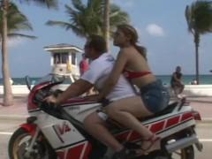 Hot Latina Screwed On Motorbike By The Original Cougar Hunter