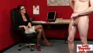 Comic loser sexy - Spex sexy whore watches femdom loser wank
