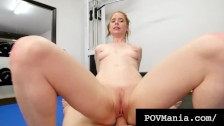 Cum Lovin Pepper Hart Fill Her Mouth With Big Dick & Lots Of Sperm!