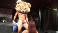 Stripper revolution Dancing bear - big dick male strippers getting sucked off by horny women