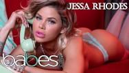 Babe nude pink world Babes- big tit phone dirty talker jessa rhodes rides bbc in pink stocking