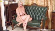 Designing fetish clothing - Hot busty blonde penny lee wants cum all over her sexy gold designer heels