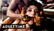 Wild west adult Jane wilde vs. bbc for nasty, hard sex full scene from adult time