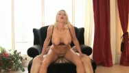 Mature blonde blowjob Arousing love
