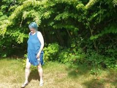 Seattle Ganja Princess In Grandmother Undies Dirty Dancing Her Phat Ass White Girl Ass! Bbw