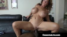 Mature Busty Texas Mommy Deauxma Bangs Big Black Cock To Erase A Debt!