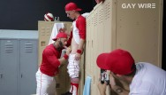 Billy beane gay baseball player Gaywire - young baseball player gets some tough anal love from coach
