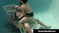 Sex scuba vacation Hot scuba diving carmen valentina sucks fucks hard cock underwater