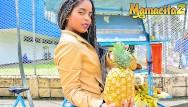 Asian markets up - Mamacitaz - rough sex with kinky ebony latina picked up at the market