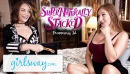 Teen stack - Boyfriends stacked sister does magic 4 my pussy- girlsway