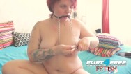 Stretched nipples bdsm - Flirt4free fetish - linda jolie - sexy bbw bdsm babe with nipple clamps