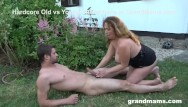 Grandmama boob pics Gorgeous granny loves sucking the gardener