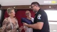 Mature with young xxx - Amateureuro - german mature honeys seduce and fuck a young guy