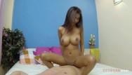 Big boob asian teens My big boobs bounce when i ride his big cock