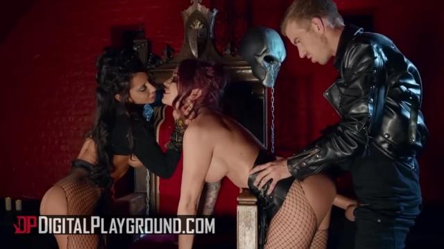 Digital Playground - Kiny alt threesome Monique Alexander & Madison Ivy