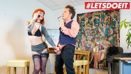 Secretaries matures - Letsdoeit - kinky redhead secretary fucked hard by her mature boss