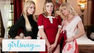 Myspace lesbian witch comments Teen witch casts love spell on busty step-aunts- girlsway