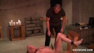 Hardcore bondage orgasm Bound submissive dominated by hardcore maledom master and various devices