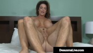 Busty blonde southerner Busty southern cougar deauxma mounts a young guys pulsating cock
