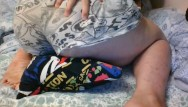 Big dick in boxer shorts - Thicc bae in boxer shorts rides a pillow and squirts on it - pissing orgasm
