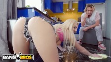 BANGBROS - Blonde Stepsister Squirts On Her Step Brother's Big Cock