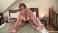 Moms cock riding tubes - She finding milf playing with her boyfriends big cock