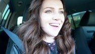 Teen girl car accident A girl gave a blowjob to a guy in a car in a parking lot / dreamerxxx