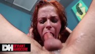 Slave tits tube Deviant hardcore - slave penny pax gets tied up and throated hard